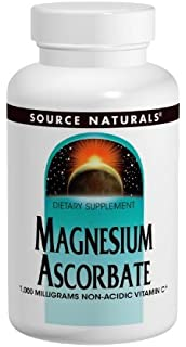 Source Naturals - ascorbato de magnesio 1000 mg. - 120 tabletas