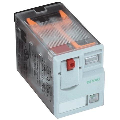 Dwyer® DPDT Ice Cube Relay, 782XBXM4L-24D, 24 VDC, Coil Resistance 650 Ohm