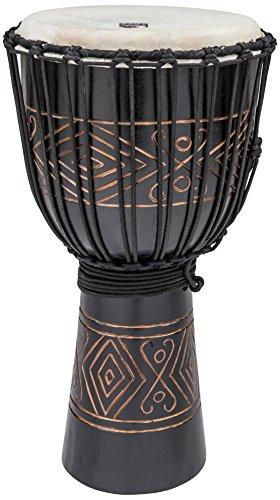 Toca TSSDJ-LBO Street Series 12-Inch Black Onyx Djembe, Large