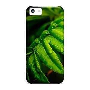 DrunkLove Protective Case For Iphone 5c(leafs)