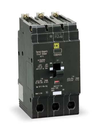 60 Amp Breaker >> Square D Circuit Breaker 60 Amp 3 Pole Edb34060 Magnetic