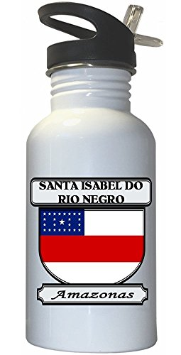 santa-isabel-do-rio-negro-amazonas-city-white-stainless-steel-water-bottle-straw-top