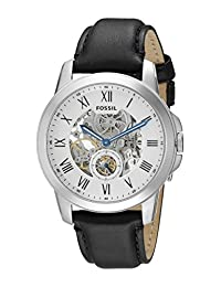 Fossil Men's ME3053 Grant Analog Display Automatic Self Wind Black Watch