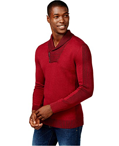 inc international concepts mens awakened sweater XL bright rhubarb (Inc Concepts Clothing compare prices)