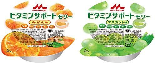 ビタミンサポートゼリー2種×各15個 計30個(みかん味78 g15個/マスカット味78g 15個)