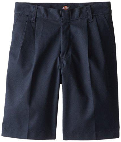Dickies Boys' Pleated-Front Uniform Short