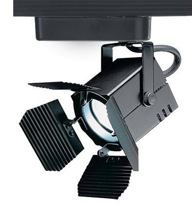 WAC Lighting JHT-801L-BK J Series Low Voltage Track Head, 75W by WAC Lighting
