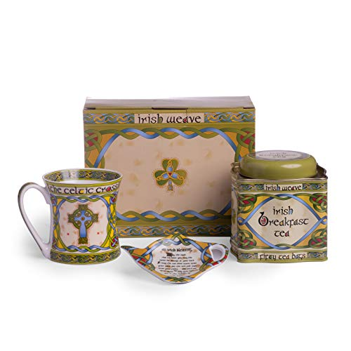 Celtic Cross Tea Set (Shamrock Set Tea)