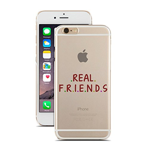 Real Friends - Inspirational Quotes - Teenager Stuff - Compatible for iPhone 6 Plus/6S Plus - Super Slim Case