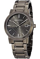 Burberry Men's BU9007 Gunmetal PVD Stainless Steel Watch