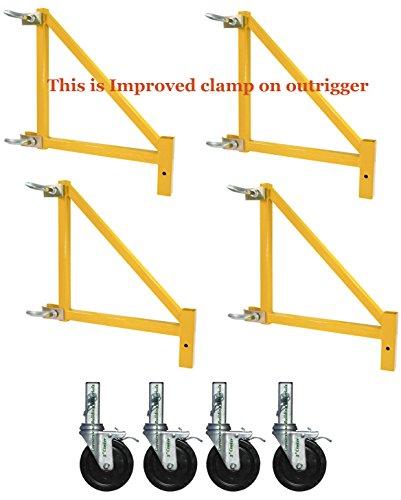 CBMScaffold 18' Outrigger Set for Multipurpose 6-Ft. Baker Style Scaffold - Model# MFSSOW