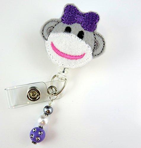 rse Badge Reel - Retractable ID Badge Holder - Nurse Badge - Badge Clip - Badge Reels - Pediatric - RN - Name Badge Holder ()