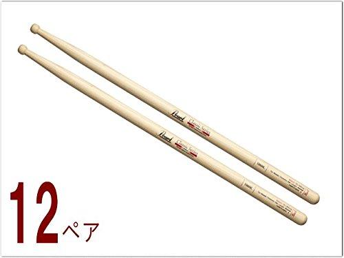 パール(Pearl)ドラムスティック(太め)ヒッコリー:106HC 12ペアセット   B00VZWAFKM