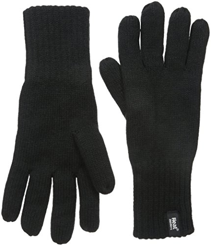 HEAT HOLDERS Men's Gloves, Black, Small/Medium (Best Gloves For Warmth Uk)