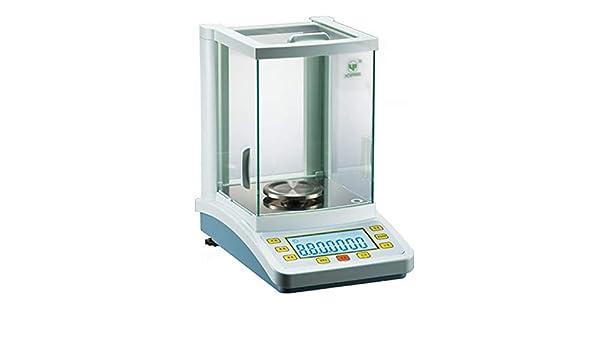 Balanza analítica electrónica BAOSHISHAN FA1204C de balanza analítica digital automática balanza de laboratorio rango de calibración interna: 0-120 g Precisión: 0,1 mg (120 g/0,1 mg): Amazon.es: Bricolaje y herramientas