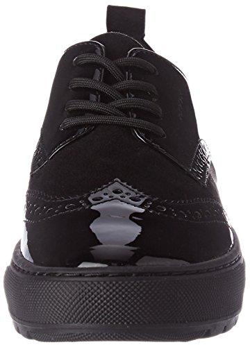 B Breeda Femme Sneakers Noir Geox black D Basses Marron 5ERqcxgZ