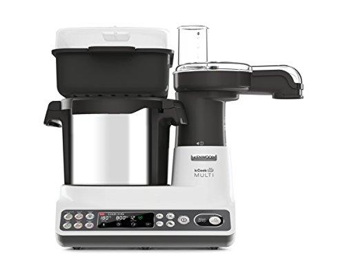 Kenwood CCL401WH kCook Multi Smart Robot da Cucina Food Processor con Funzione Cottura, 10 Accessori Inclusi, Acciaio… 6