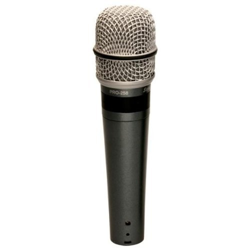 Superlux PRO-258 Professional Vocal Mic Series- Supercardioid dynamic microphone by Superlux
