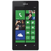 "UNLOCKED Nokia Lumia 520 3G Phone, 4"" Touch Screen, 5MP 720P Camera, Windows Phone 8 WP8, BLACK"