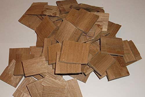 (Two Pounds of American White Oak Wood Chips for Aging Wine, Beer, Whiskey, and Other Spirits!)