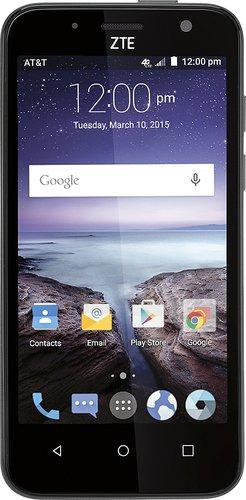 ZTE Maven Z812 - 8GB - Blue Gray (AT&T) Smartphone