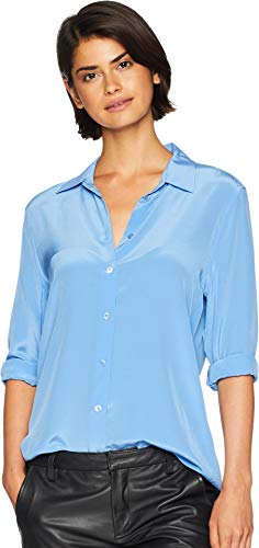 Equipment Women's Essential Q23-E900 Academy Blue Medium for sale  Delivered anywhere in USA