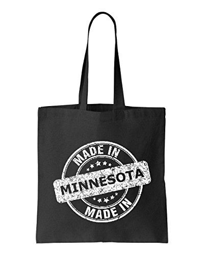 Ugo Made in MN Map Minneapolis Flag Golden Gophers Home University of Minnesota Tote Handbags Bags Work School - Outlet Stores In Minneapolis