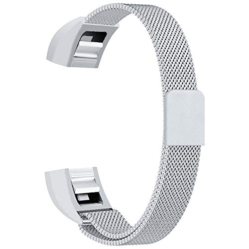 a HR Accessory Bands and for Fitbit Alta Band (Pearl White, Small 5.1