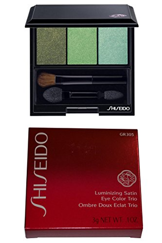 Shiseido The Makeup Luminizing Satin Eye Color Trio 0.1oz. 3g GR305 Jungle