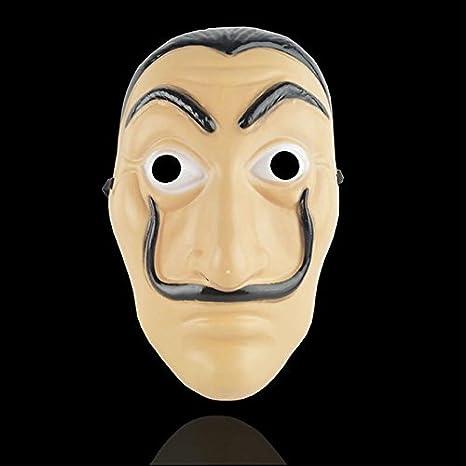 maschera dali casa di carta  Nino srl Maschera Salvador Dalì - La Casa di Carta:  ...