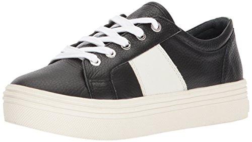 Dolce Vita Women's Tavina Sneaker, Black Leather, 8.5 M US