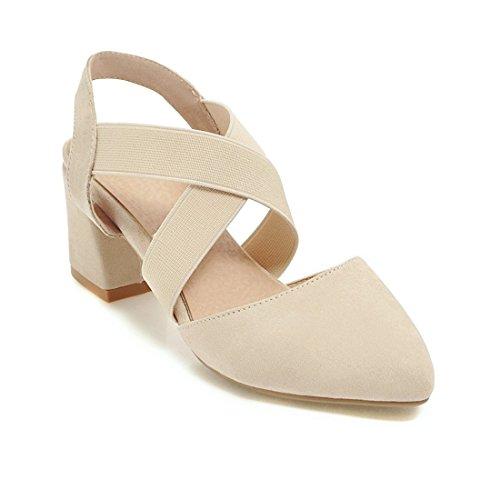 di alti e bianco sandali con sandali sandali donne e sharp moda 32 dei le violento tacchi i sandali riso OtO7Z
