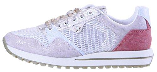 Wrangler Shoes Mod.Beyond Sneaker Damen (White/Platinum) White/Platinum