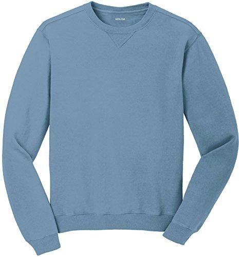 Koloa(tm) Pigment-Dyed Vintage Crewneck Sweatshirt-Mist-XL