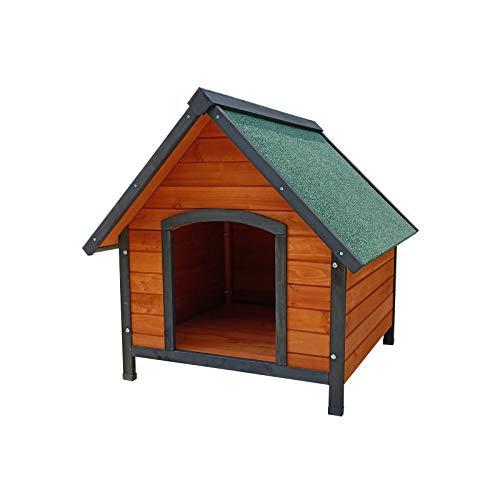 Comprar Gardiun KNH1210 - Caseta de perro de madera Sweet a 2 aguas 72x76x76 cm - Tiendas Online - Envíos Baratos o Gratis 24/48H