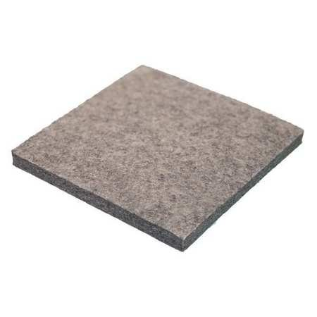 Felt Sheet, F3, 1/2 in Thick, 12 x 12 in