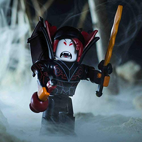 amazoncom roblox hunted vampire action figure comes Amazon Com Roblox Action Collection Hunted Vampire Figure Pack Includes Exclusive Virtual Item Toys Games