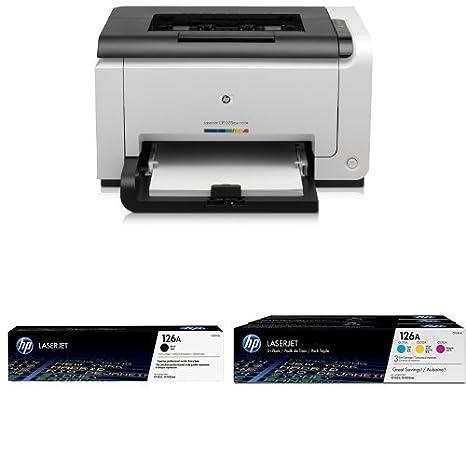 HP LaserJet CP 1025 nw Pack - Impresora láser + Cartucho de tóner ...