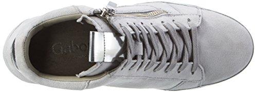 Gabor Women's Comfort Hi-Top Sneakers Grey ZcBMSWK4