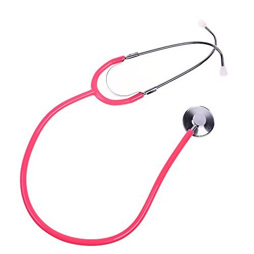 BCP Pink Color Real Working Stethoscope for Kids Role Play