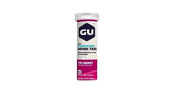 GU Energy Brew Electrolyte - Hydration Drink Tabs 1 tubo x ...