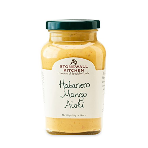 - Stonewall Kitchen Habanero Mango Aioli, 10.25 Ounce