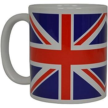 3eeab41250f8 Rogue River Tactical Best Coffee Mug UK Union Jack British Flag Novelty Cup  Great Gift Idea For Men Women United Kingdom