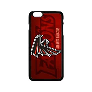 "NFL atlanta falcons Print Black Case With Hard Shell Cover for Apple iPhone 6 4.7"" by runtopwell"