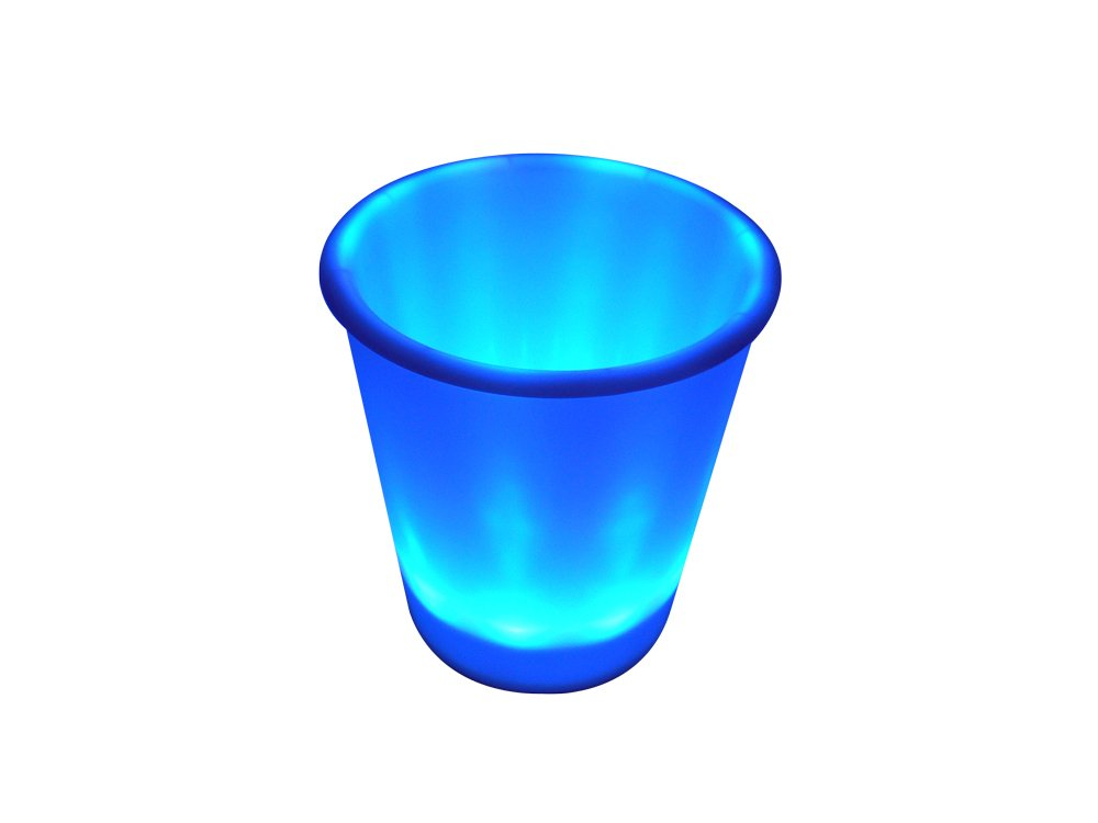 Fortune Products IB-RGBW9 LED Lighted Ice Bucket, 9.25'' Diameter x 11.5'' Height, 180oz Capacity, Multi-Color