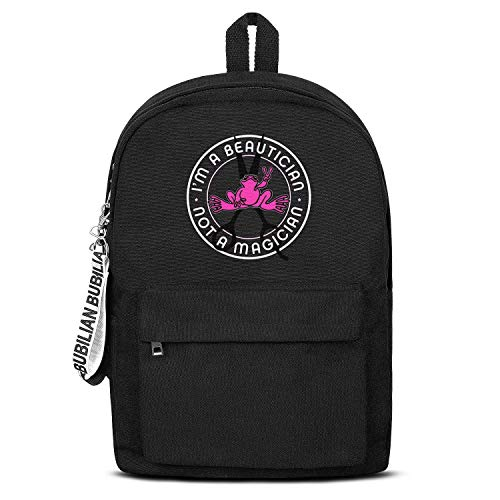 Peace Frogs Logo Backpack Classic Lightweight Canvas Rucksack Reusable for Men Women or Kids