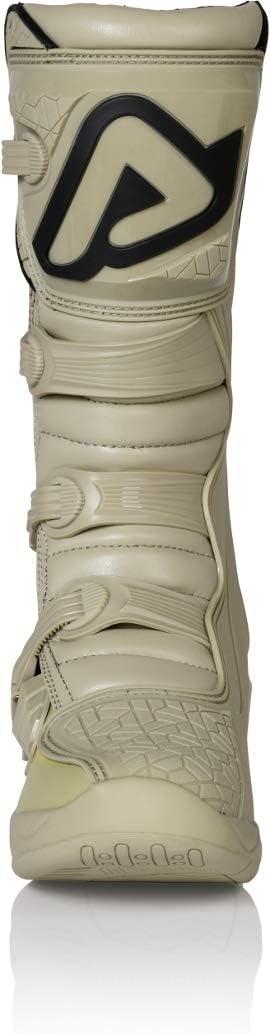 Acerbis oro e bianco Stivali da motocross X-Team
