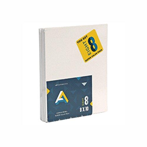 Art Alternatives Canvas Panel Super Value 8x10 Pack of 8 by Art Alternatives