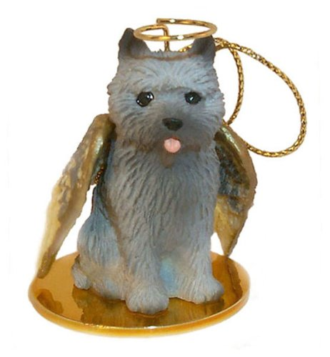 Cairn Terrier Angel Dog Ornament - - Ornament Cairn Terrier Dog