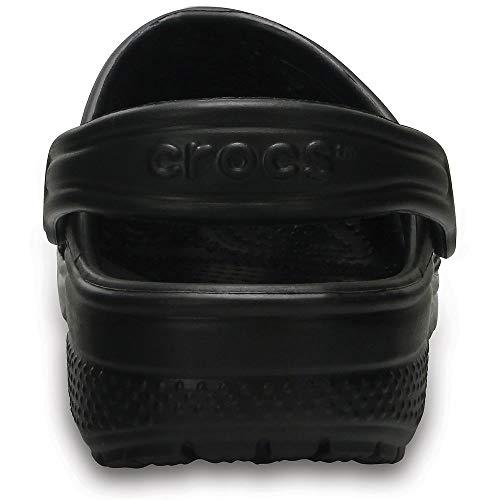 Crocs Kids Classic Clogs, Black 8 by Crocs (Image #3)